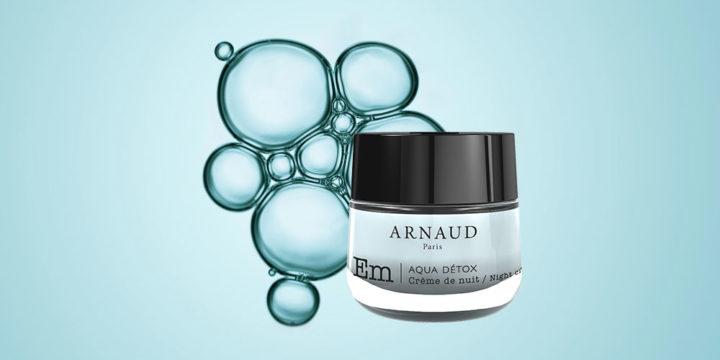 La Crème de Nuit Aqua Détox veille sur votre peau